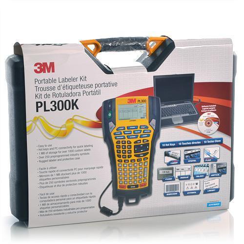 3m Pl300 Portable Labeler Kit Bar Code Capability 1 4 Quot 1